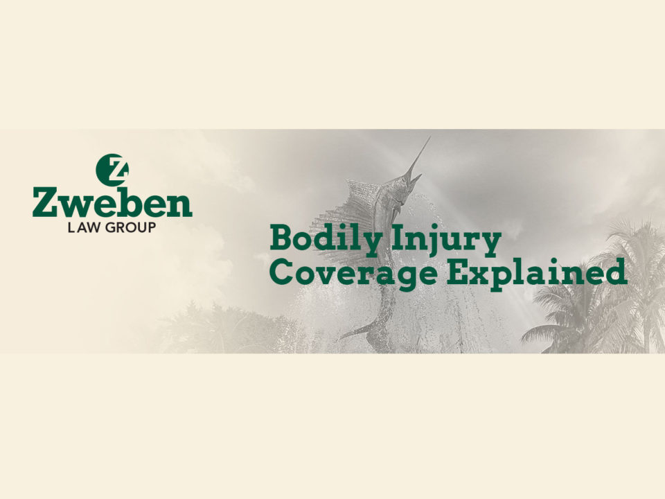 Bodily Injury Coverage Car Accident Stuart, FL