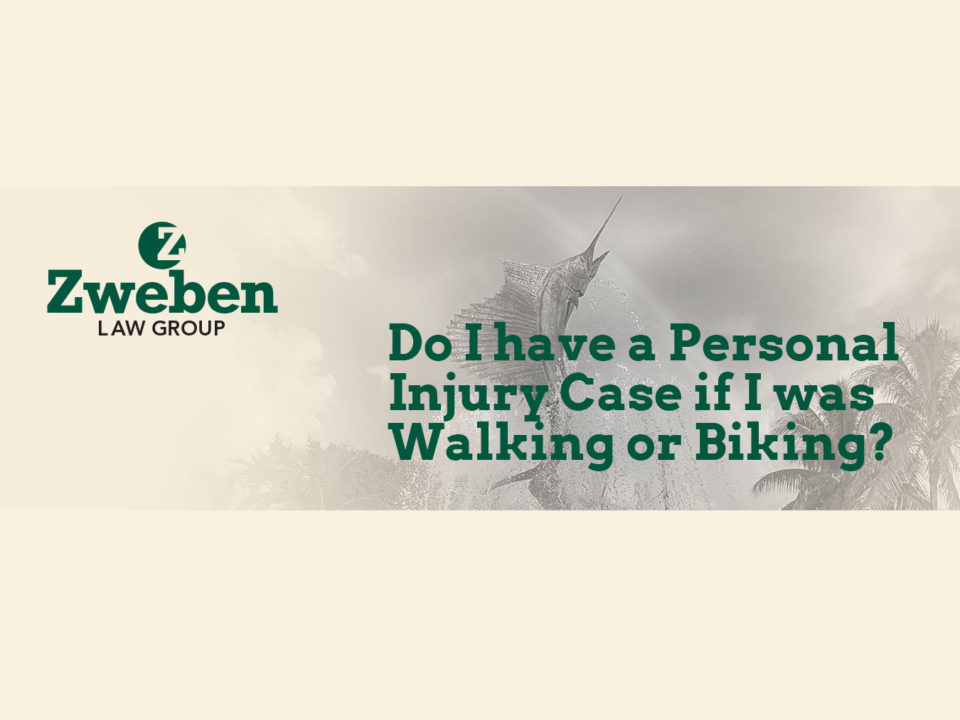 Do I have A Personal Injury Case if I was Walking or Biking