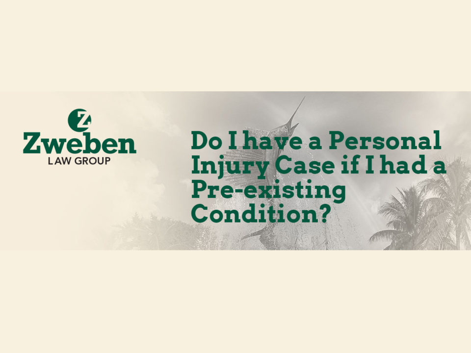 Do I Have A Pesonal Injury Case If I had a Pre-existing Condition?