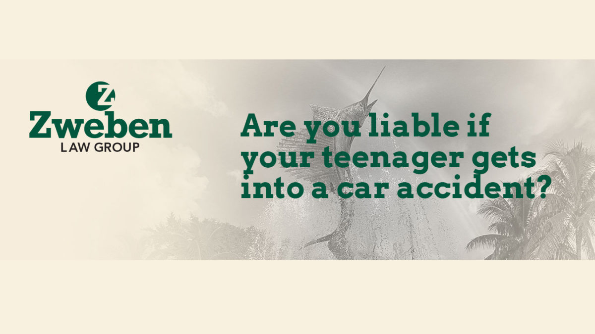 Are you liable if your teenager gets into accident