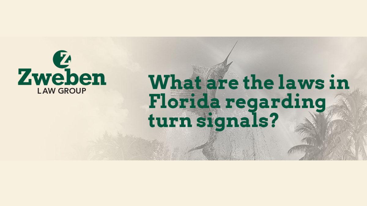 Florida Laws Turn Signals