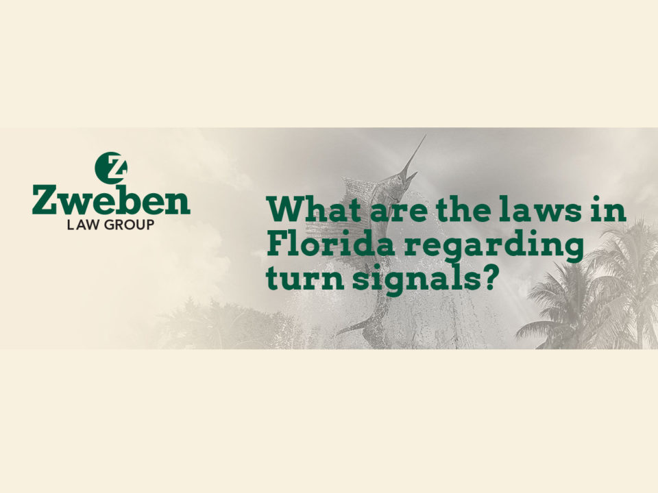 Florida Laws Turn Signals
