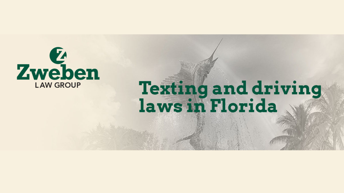 Texting and Driving Laws in FL