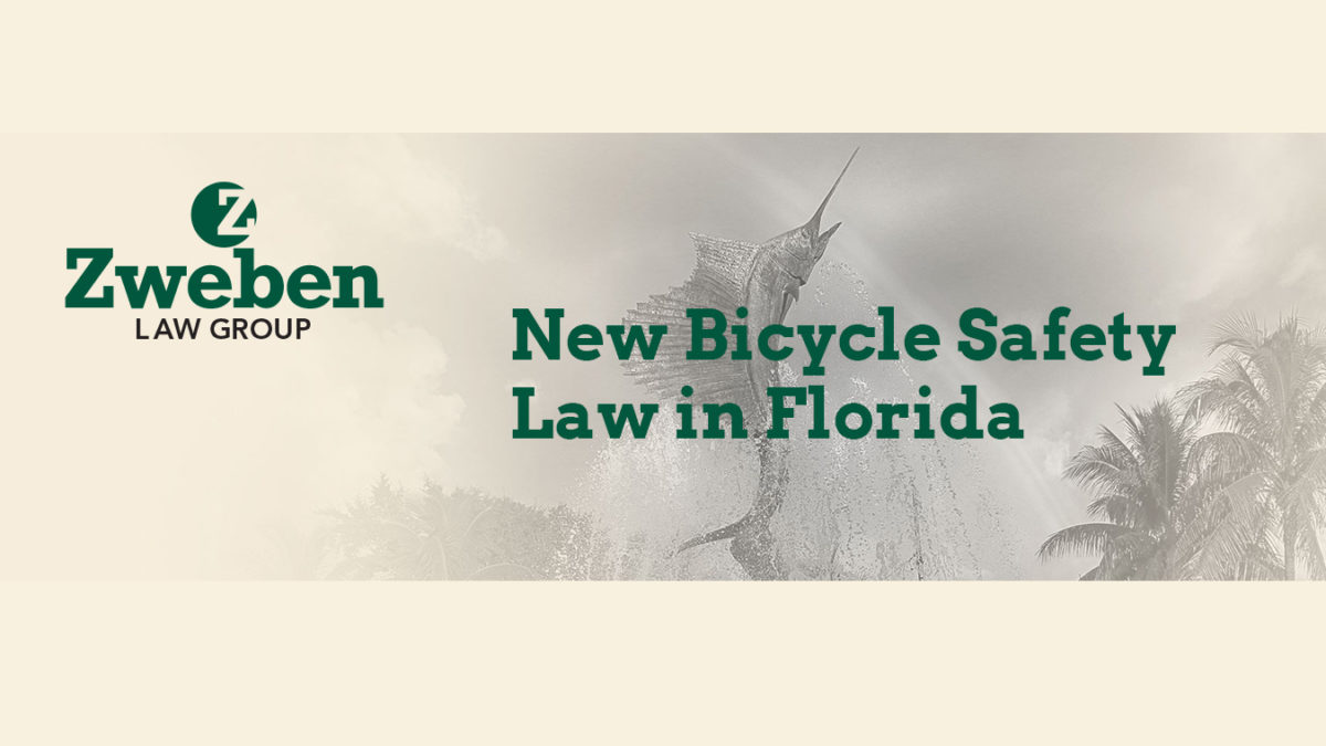 New Bicycle Safety Law in Florida