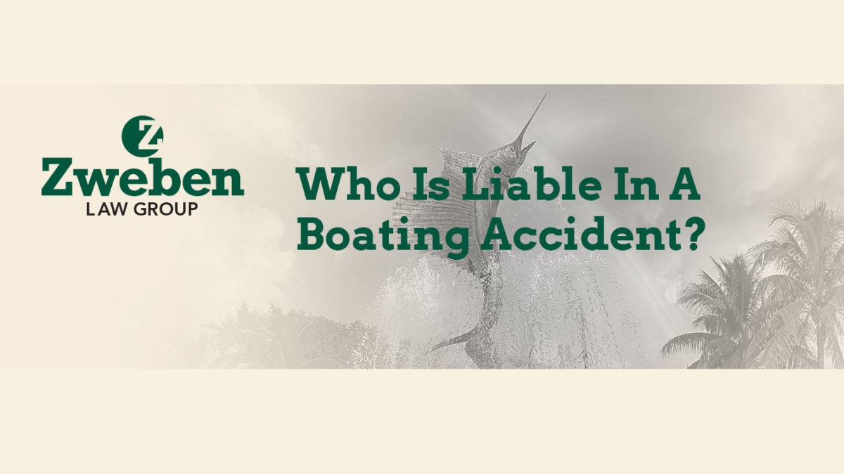Who Is Liable In A Boating Accident